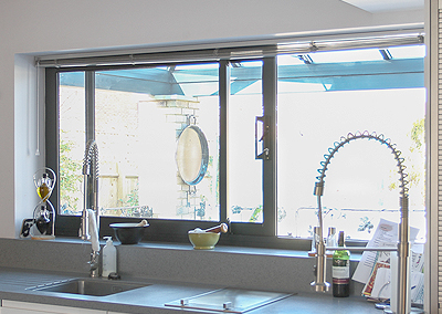 aluminium horizontal sliding windows