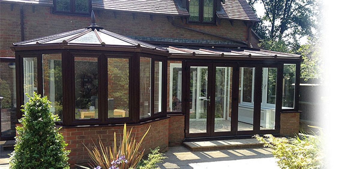 black-p-shaped-conservatory-sussex