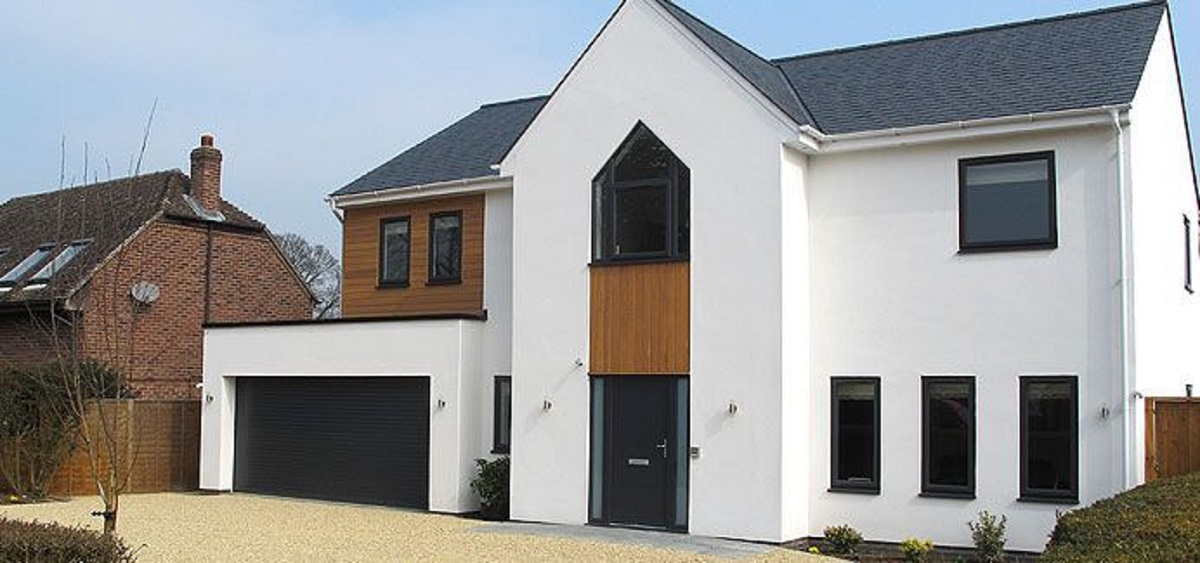 grey casement windows contemporary in eastbourne east sussex