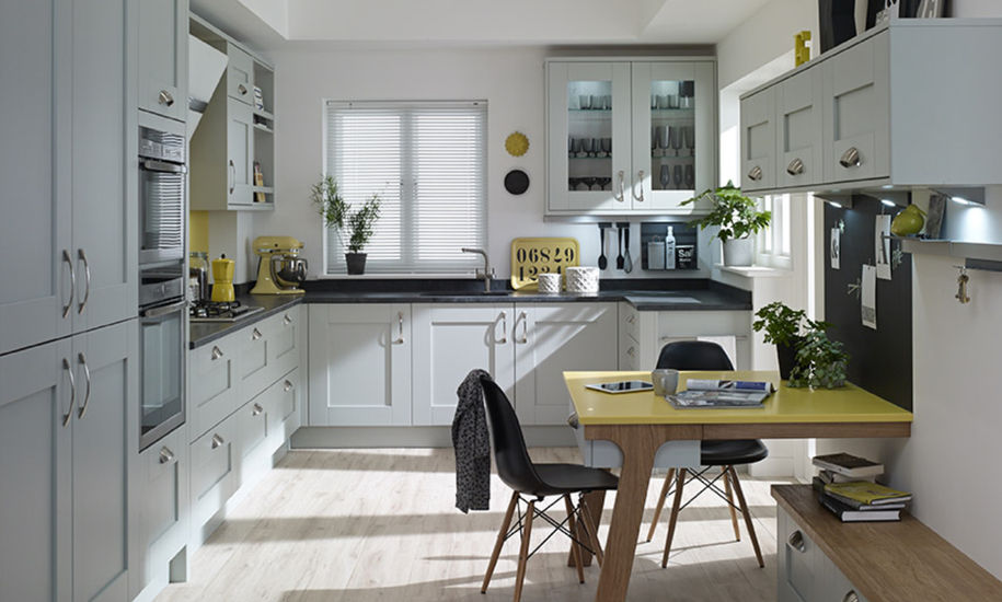 Milbourne Partridge Grey Kitchen Design
