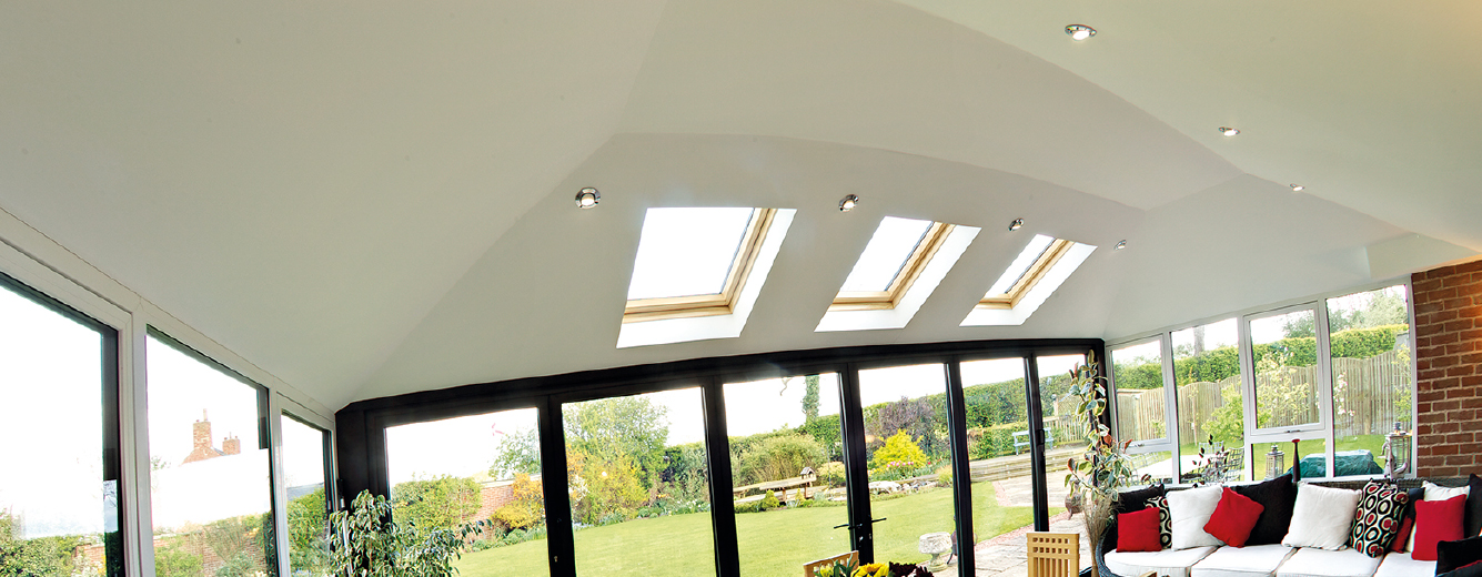 replacement conservatory roof inside