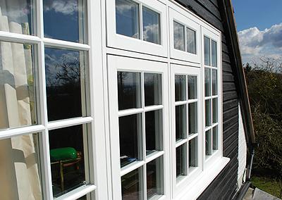 wooden alternative window