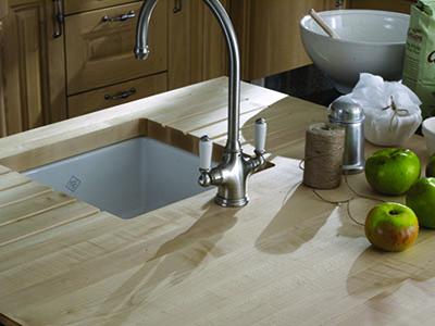 wood kitchen worktops