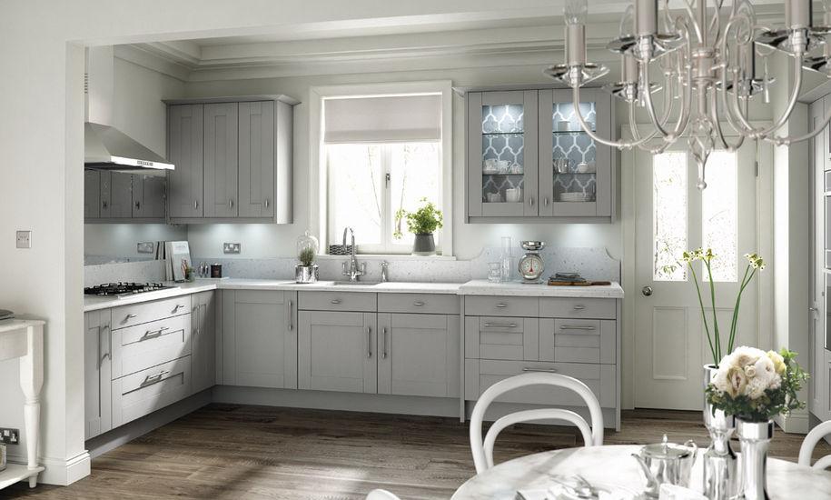 broadoak partridge grey kitchen design