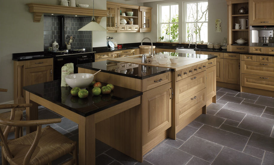 cornell oak kitchen design