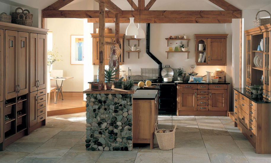 croft oak kitchen design