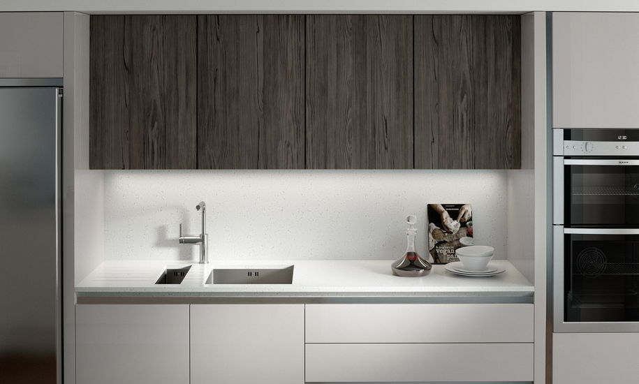 feature character graphite kitchen design