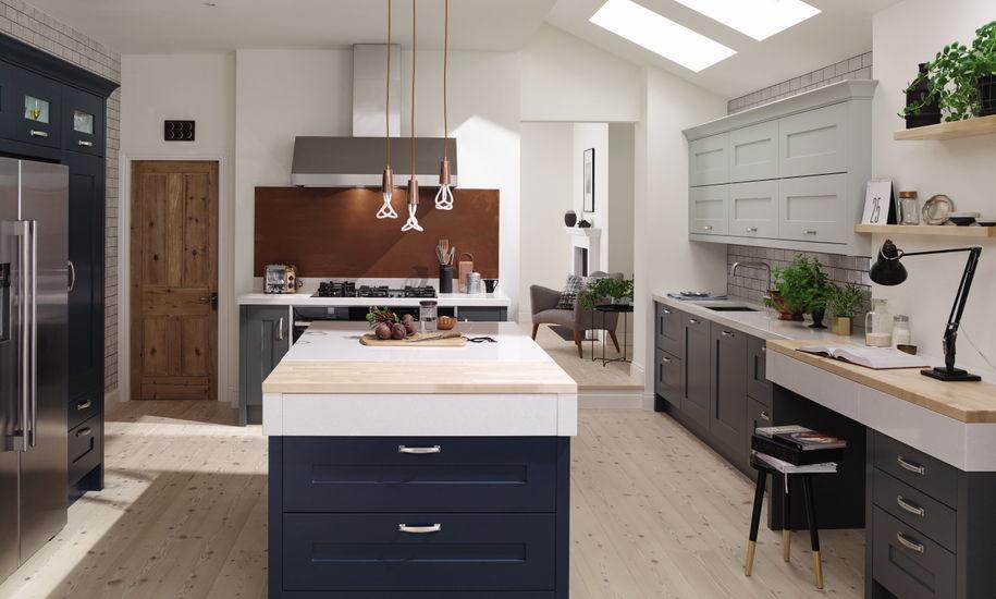 fitzroy painted kitchen design