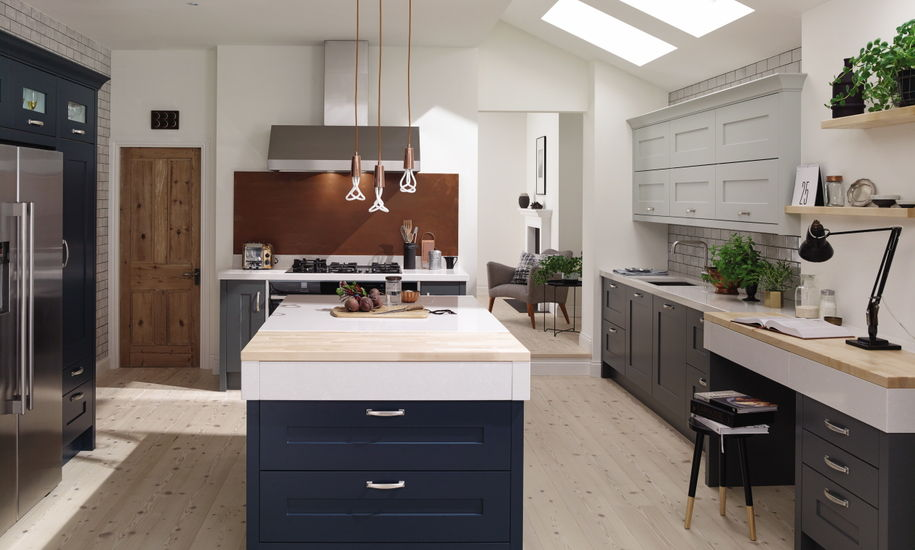 fitzroy painted kitchen design