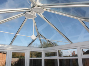 glass roof conservatory in pevensey bay