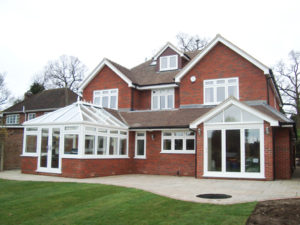 kitchen conservatory extension in eastbourne