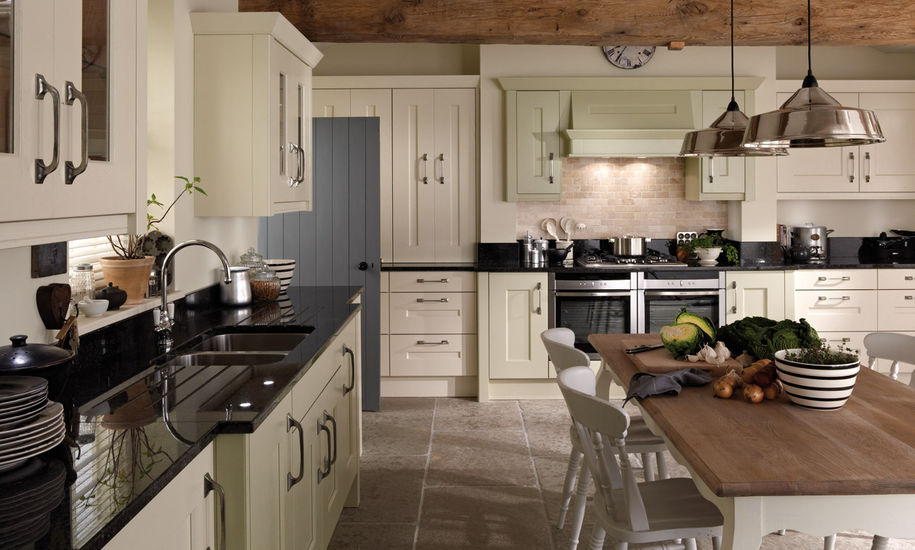 langham painted kitchen design