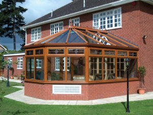 light oak conservatory