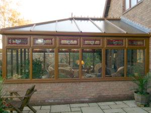 mahogany edwardian conservatory