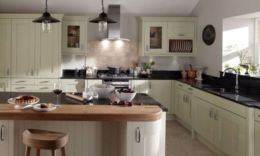 milbourne sage kitchen design