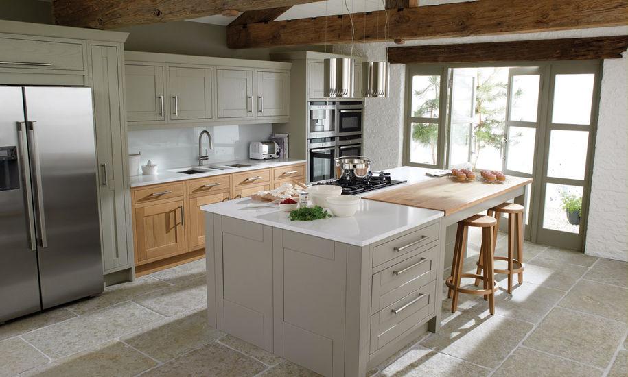 milton painted kitchend design