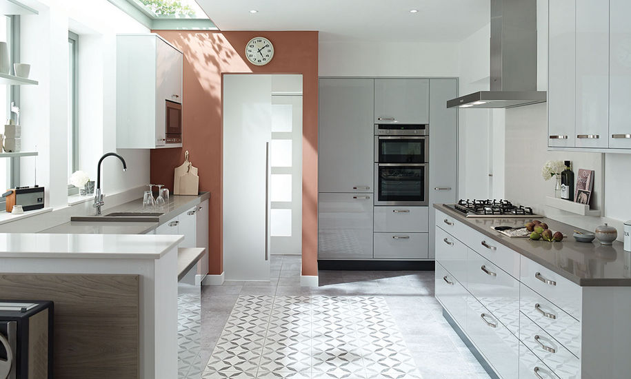 porter dove grey kitchen design