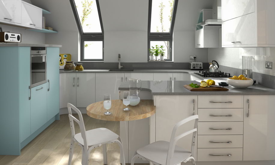 porter white kitchen design
