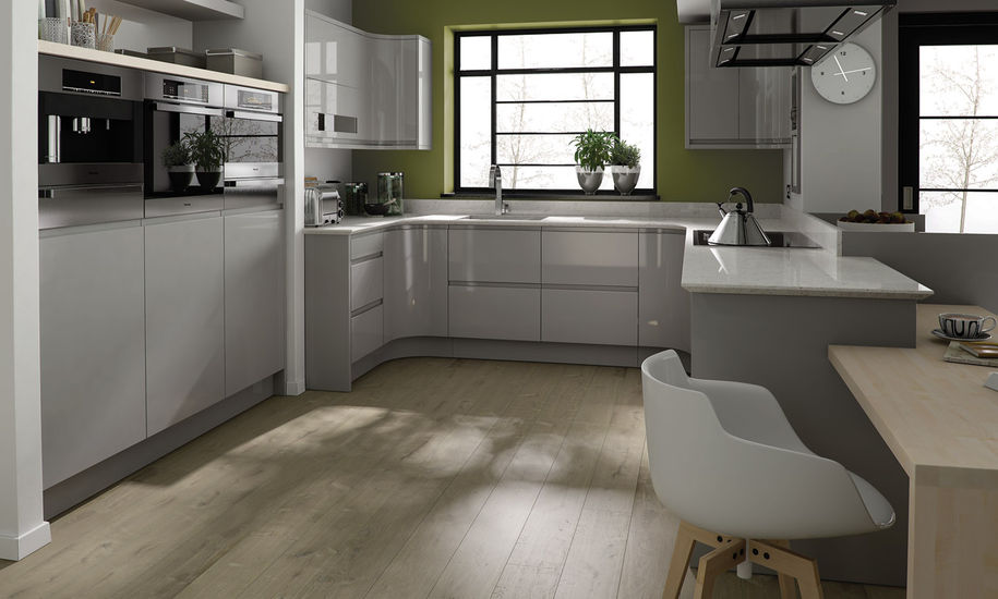 remo dove grey kitchen design