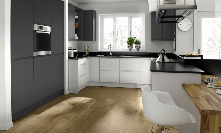 remo graphite kitchen design