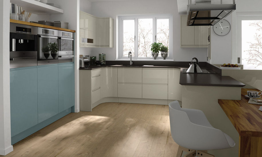 remo painted kitchen design